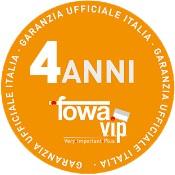 Garanzia Fowa 4 anni